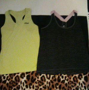 2 Active Wear Tops